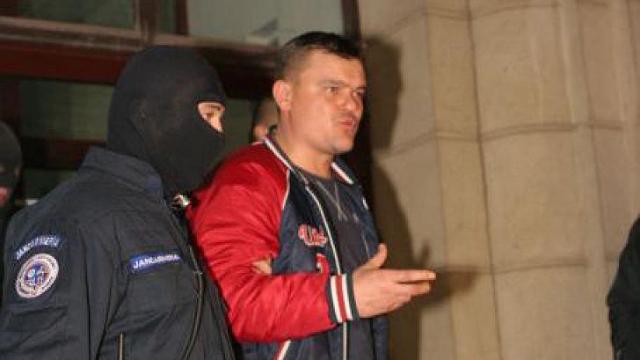 Gheorghe Mistață, reținut de mascați