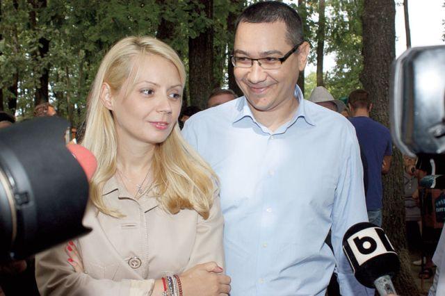 De 1 Mai, Victor Ponta și Daciana Sârbu au plantat copaci în Orașul Copiilor