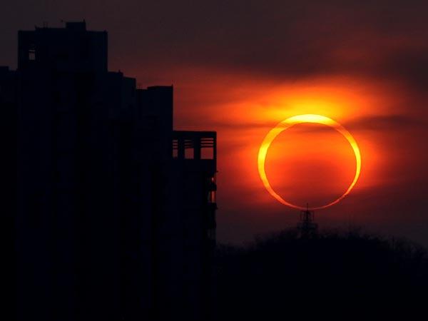 eclipsa inelara de soare