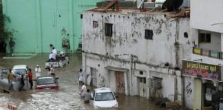 Cel puțin 13 morți în inundatii produse în Arabia Saudită