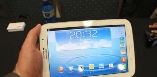 Samsung scoate la vânzare pe piața din România tableta Galaxy 8.0
