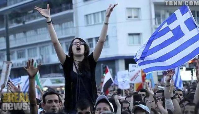 Grevă generală în Grecia de 1 Mai