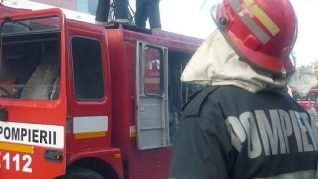 Incendiu la Politia Rutiera Covasna