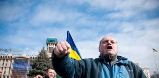 Jurnaliștii pichetează Ministerul de Interne din Kiev, după ce doi ziariști au fost bătuți