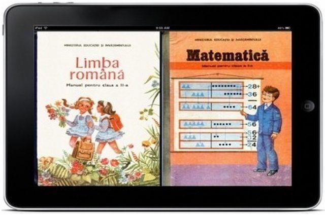 1. Cum vor arăta manualele digitale care vor fi introduse în școli din luna decembrie