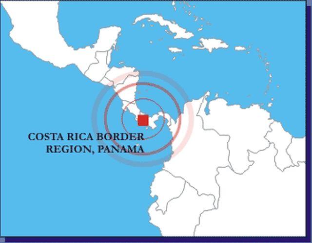 Cutremur la frontiera dintre Panama şi Costa Rica