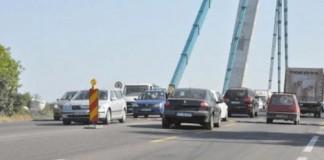 Circulaţia rutieră pe podul de la Agigea, închisă până în decembrie, în anumite intervale de timp