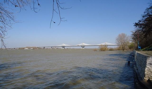 Podul Calafat-Vidin, gata pentru folosire, va fi deschis oficial circulației pe 14 iunie