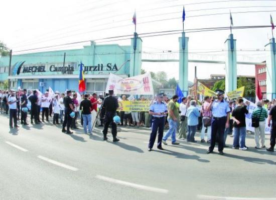 Noi proteste la Mechel Oțelul Roșu