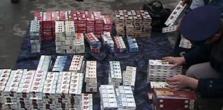Opt containere cu ţigări confiscate în Portul Constanţa