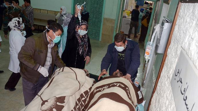 Armele chimice au fost folosite de două ori în conflictul sirian