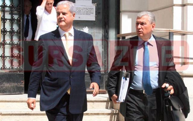 Adrian Năstase, la ÎCCJ, alături de avocatul Ioan Cazacu
