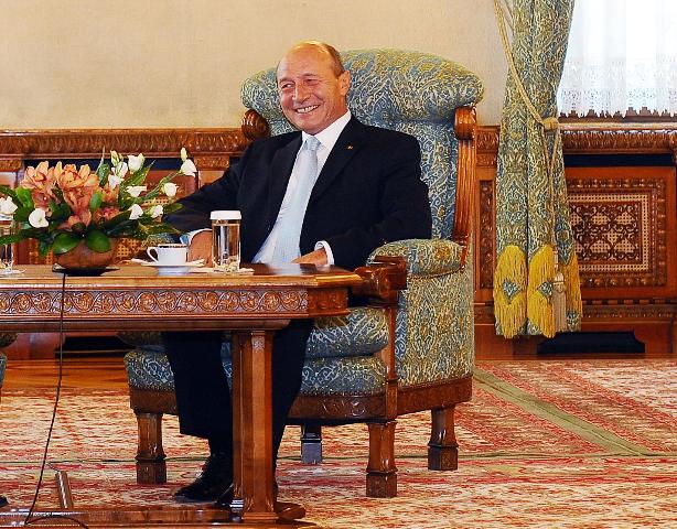 Traian Băsescu, la Cotroceni