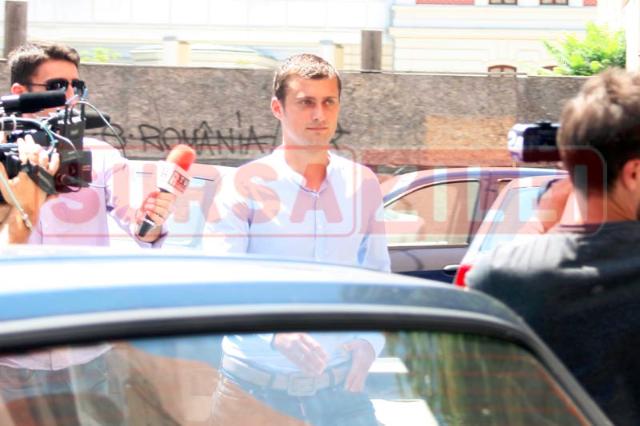 Gabriel Tamaș a fost audiat, vineri, la Parchetul Capitalei