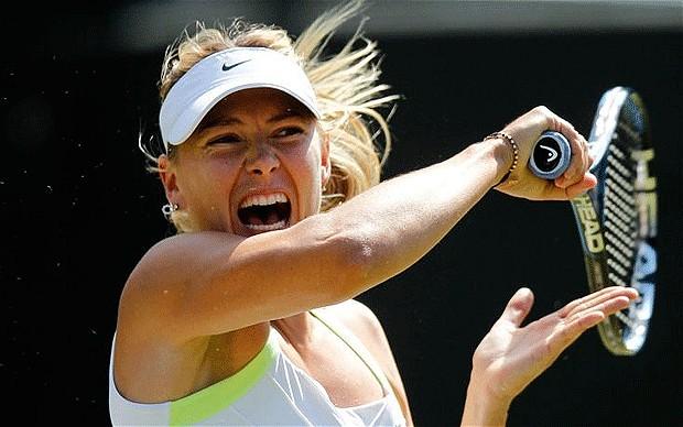 Maria Sharapova a pierdut locul I