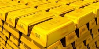 Scăderea valorii aurului a lăsat rezerva fără 130 de milioane de euro