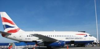 O aeronavă a British Airways a abandonat cursa după ce un obiect uitat pe avion a fost aspirat de motorul aparatului de zbor