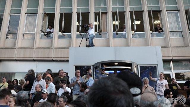 GRECIA: Postul public de radio şi televiziune ERT, închis de Guvern