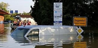 Daunele provocate de inundaţiile din Germania s-ar putea ridica la circa 12 miliarde de euro