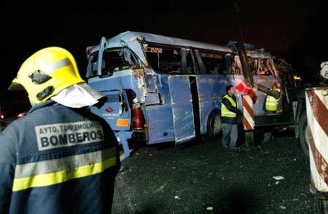 Un ROMÂN se află printre persoanele rănite în accidentul de autocar din Spania