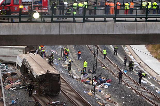 Tragedie în Spania: mecanicul trenului a fost inculpat şi eliberat sub control judiciar