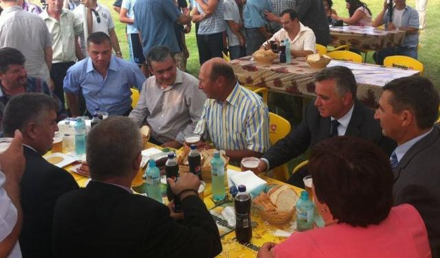 Mircea Andrei, alături de Traian Băsescu, la vizita președintelui în Argeș