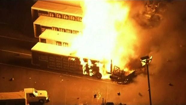 Explozii la o uzină de procesare a gazelor din Florida. Zeci de persoane dispărute