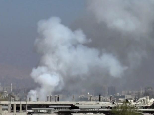 Obuze trase din Siria au explodat în zona ocupată de israelieni în Platoul Golan