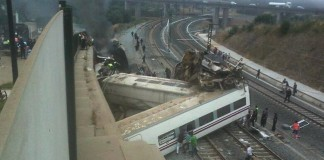 Mecanicul trenului deraiat în Galicia, în arest preventiv
