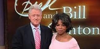 Bill Clinton si pe Oprah Winfrey, decorați de Barack Obama