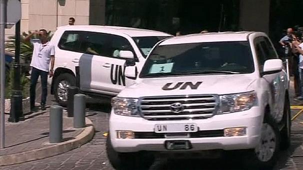 Inspectorii ONU revin în Siria miercuri, anunţă Moscova
