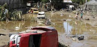 Taifun puternic în Filipine. Peste 23 de persoane sunt date dispărute