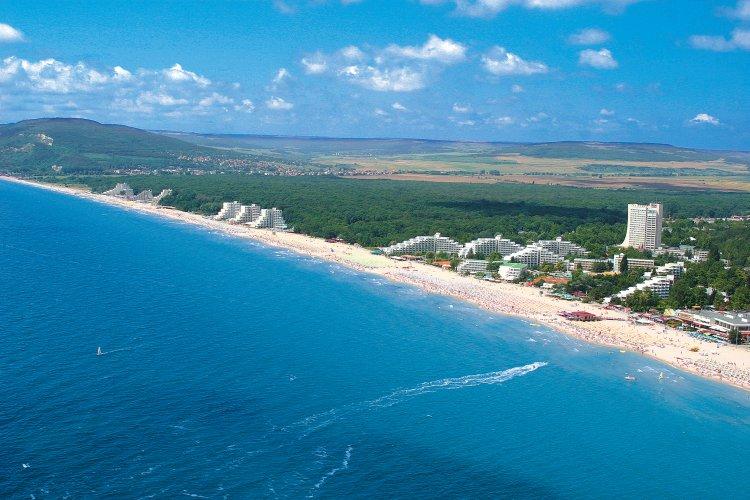 Litoralul bulgăresc și litoralul românesc