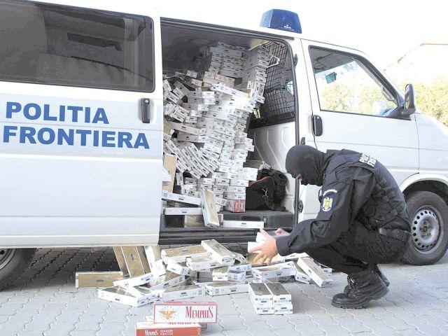 Contrabanda cu țigări, în scădere. Câți bani intră, în plus, în vistieria statului!