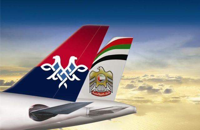 Etihad Airways preia 49% și managementul companiei aeriene a Serbiei
