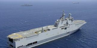 Rusia trimite nave în estul Mediteranei