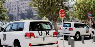 Arme chimice în Siria: Inspectorii ONU şi-au deschis o bază logistică la Damasc