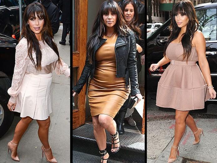 Kim Kardashian vrea să apeleze la chirurgia estetică pentru a-și recăpăta silueta. Kanye se opune intervențiilor