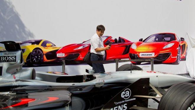 McLaren a intrat pe piața Chinei