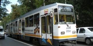 Circulația tramvaielor în zona Rahova - Ferentari ingreunată din cauza deraierii unui tramvai