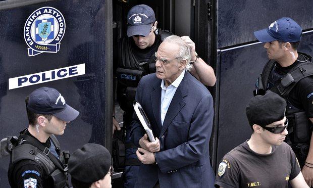Fostul ministru grec Akis Tsohatzopoulos, găsit vinovat pentru spălare de bani