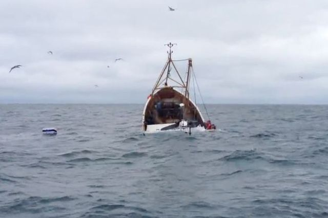 Coliziune în Marea Nordului: Trei marinari sunt dați dispăruți după ce nava lor s-a scufundat