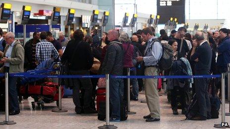 aeroport blocat