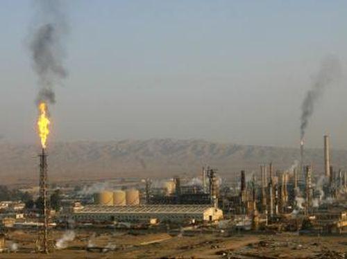 Irak - rafinarie de petrol
