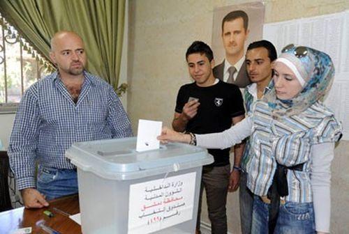siria - alegeri