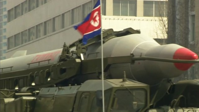 North Korea is threatening with a new nuclear test