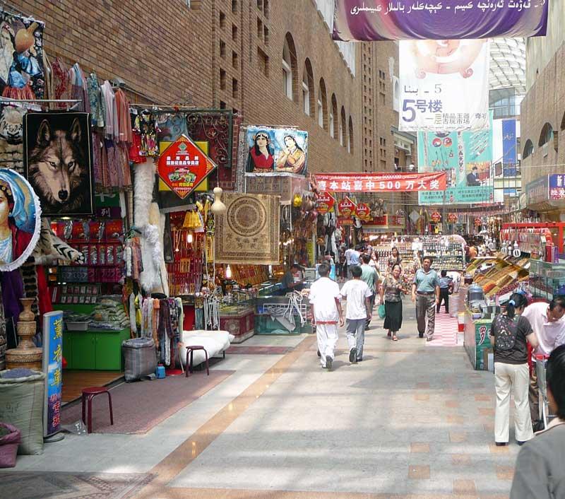 Inside-Urumqi-Grand-Bazaar