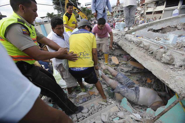 ecuador cutremur 2