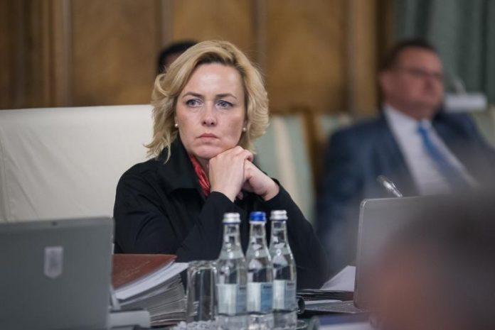 Ministrul de interne Carmen Dan