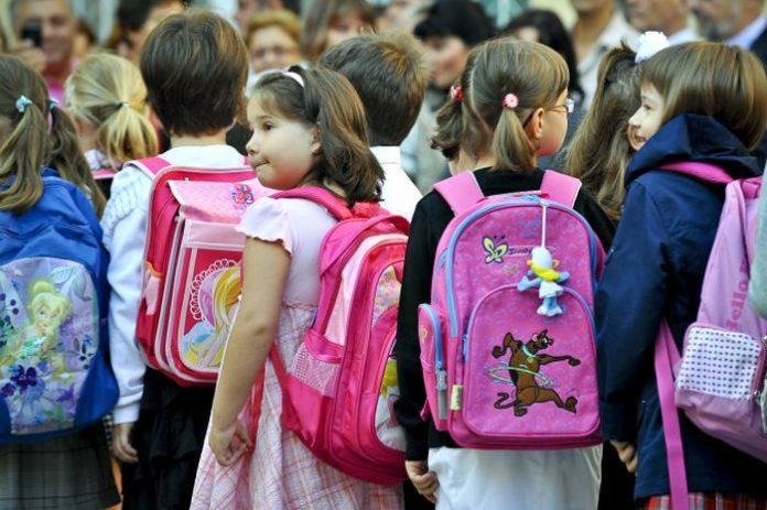 Ghiozdanele elevilor vor fi mai ușoare prin lege